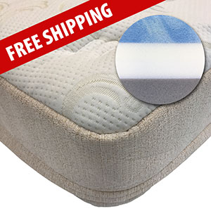 Free shipping on Road Premier mattress